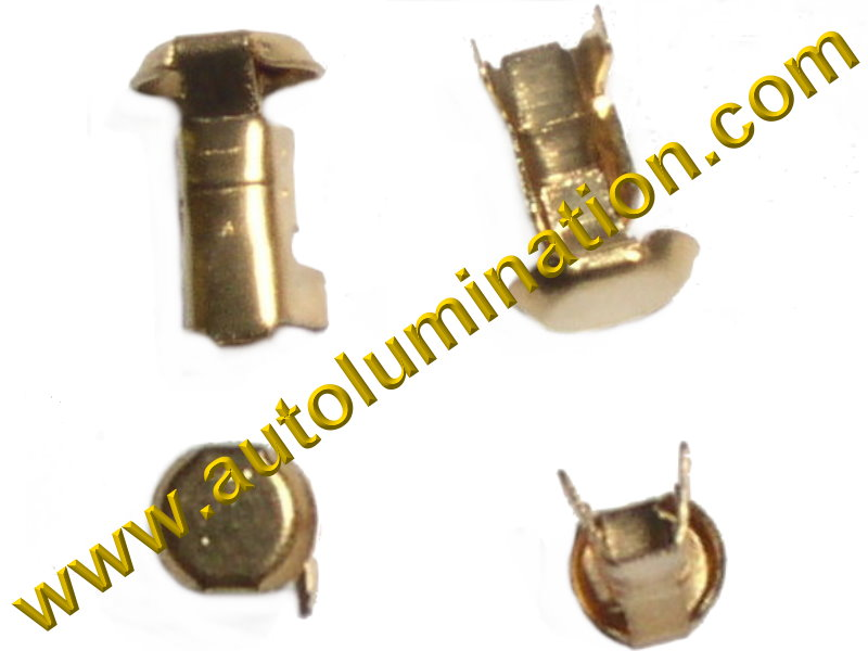 Ba15s P21W 1073 1093 1129 1141 1159 1295 1459 1619 1651 1680 7506 7527 1156 Bayonet Pigtail Wiring Electrical Crimp Button Contact