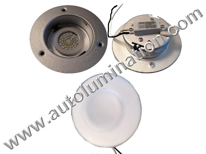 480 lumen Overhead Dome Light Map Interior Truck RV Led Light Fixture
