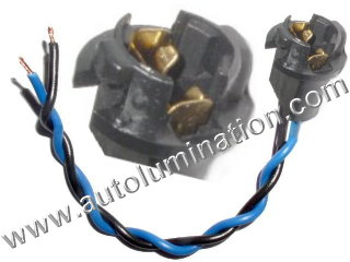 T10 194 168 161 W5W Wedge Twist Lock Socket Connector