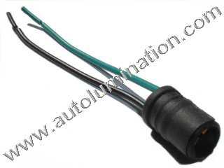 T10 194 168 161 W5W Wedge Socket Connector