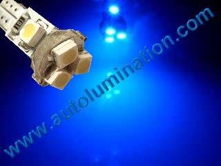 24 T6.5 T6-1.2 T2-1/4 5LED 3528 Bulbs Matrix Blue led bulbs