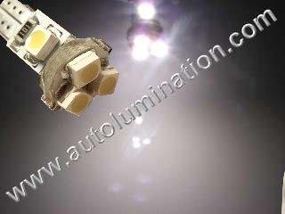 24 T6.5 T6-1.2 T2-1/4 5LED 3528 Bulbs Matrix Cool White led bulbs