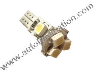 24 T6.5 T6-1.2 T2-1/4 5LED 3528 Bulbs Matrix led bulbs