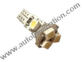 24 T6.5 T6-1.2 T2-1/4 5LED 3528 Bulbs Matrix led bulbs