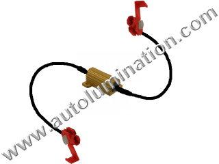 25 Watt Load Equalizer Resistor Wire Wound Aluminum