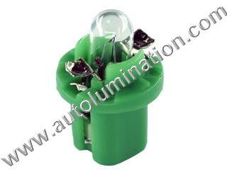 Instrument Panel Light 2722mfx Bulb 2722MFX 12V 2W BX8.5d  B8.5D 2722 2752 2722MF 2752MF
