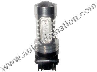 22 Watt Cree 3157 replaces 3047 3057 3155 3156 3157 3157LL 3357 3454 3457 3757 4057 4114 4114LL 4114K 4157 4157LL Tail Light Turn Signal Bulb