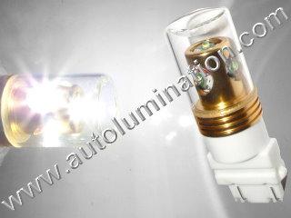 24 Watt Cree 3157 replaces 3047 3057 3155 3156 3157 3157LL 3357 3454 3457 3757 4057 4114 4114LL 4114K 4157 4157LL Tail Light Turn Signal Bulb