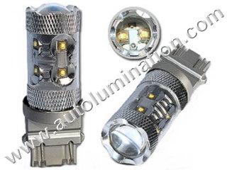 50 Watt Osram Cree 3157 replaces 3047 3057 3155 3156 3157 3157LL 3357 3454 3457 3757 4057 4114 4114LL 4114K 4157 4157LL Tail Light Turn Signal Bulb