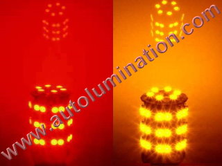 3157 combination red amber led bulb