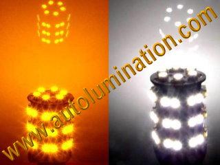 3157 combination amber white led bulb