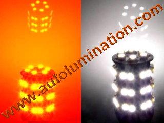 3157 combination orange white led bulb