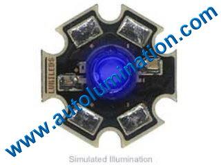 Luxeon Led 3 Watt High Powered Star Cree Blue