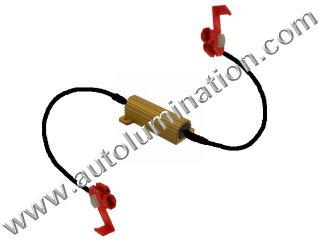 3 ohm 6 ohm 50 Watt Load Equalizer Resistor Wire Wound Aluminum