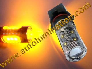 9009 P13W P13 H16 H16W PSX26W 5502 Led DRL Bulb Osram Amber Yellow  Led DRL Bulb 50 watt Cree