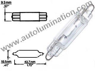 #561 562 564 567 MINIATURE BULB RIGID LOOP BASE 12.8 Volt C-8 Filament Design Rigid Loop Base #561