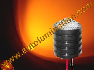 5 watt cree Led Regulated 12 volt light assembly Amber