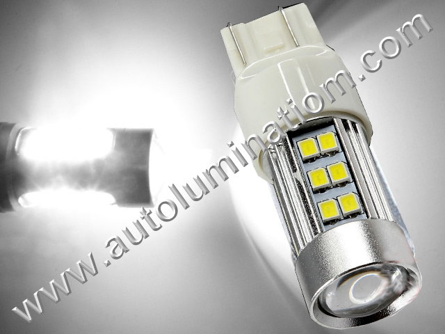7443 7444 W21 5W 7440 W21W WY21W 7441 2835 CK Optical Cool White  Led Bulb
