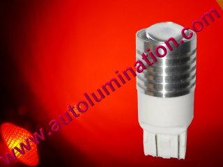 7443 W21W 7440 W215W Led 5 watt cree Red Tail Light Bulb