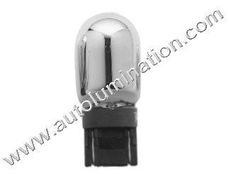 7443 Silver Vision Chrome bulb