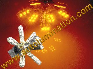 7443 Spider Spider Lights Tail Lights Leds Red
