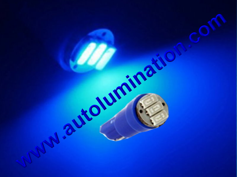 Wedge T5 T5.5 Samsung led Neowdge  bulbs LED Bulbs Blue