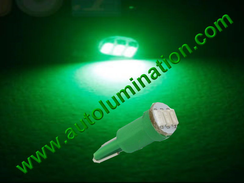 Wedge T5 T5.5 Samsung led Neowdge  bulbs LED Bulbs Green