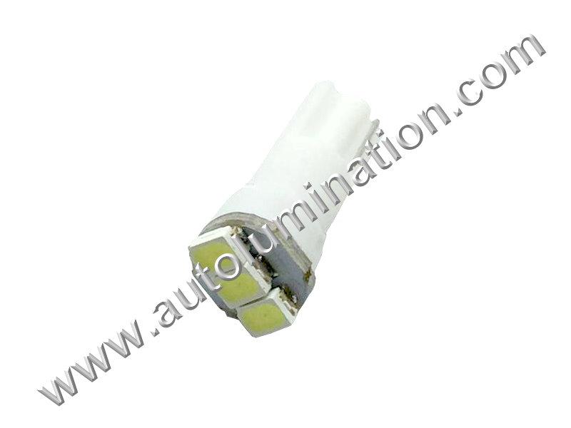 T5 Wedge T5.5 Samsung 3 SMD led Neowdge  bulbs LED Bulbs Super Cool White