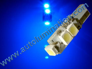 74 37 2721 T5 3528 Matrix Blue led bulbs LED Bulbs
