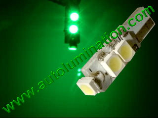 74 37 2721 T5 3528 Matrix Green led bulbs LED Bulbs