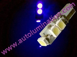 74 37 2721 T5 3528 Matrix Purple led bulbs LED Bulbs