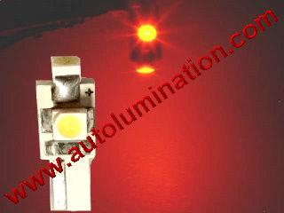 74 37 2721 T5 3528 Matrix Red led bulbs LED Bulbs