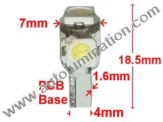74 37 2721 T5 Samsung 5050 led bulbs LED Bulbs