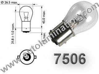 7506 ba15s Bulb