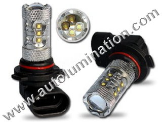 H11 PGJ19-2 6000K Super White LED 80 Watt Cree LED High Powered Headlight Bulb