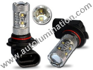 H12 9040 9045 9055  6000K Super White LED 50 Watt Osram LED High Powered Headlight Bulb