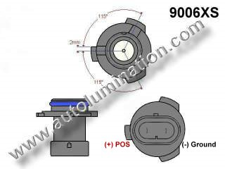 9006xs Headlight Socket Plug Base