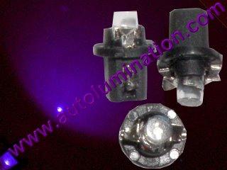 B8.5D 2722 2752 2722MF 2752MF Led Bulb Purple UV
