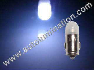 Ba7s 3898 327 328 330 338 345 367 Super Bright Brighter White Porche Instrument Panel Led Bulbs