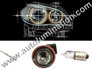 Instructional video on How to Replace the Angel Eye Bulb on BMW 3 Series, 5 Series, 7 Series, M3. M5. M6, X3. X5. X6, E39, E63, E83