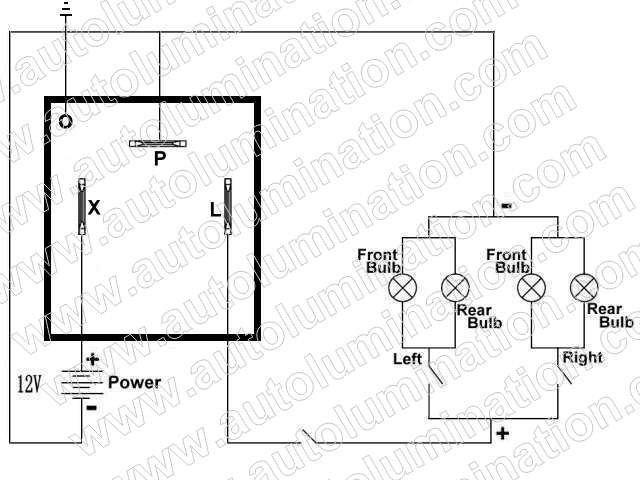 EL13 Led Flasher Realy Schematic