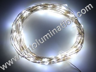 copper wire Led fairy lights  10 Meter 100 Cool White