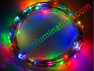 copper wire Led fairy lights  10 Meter 100 RGB