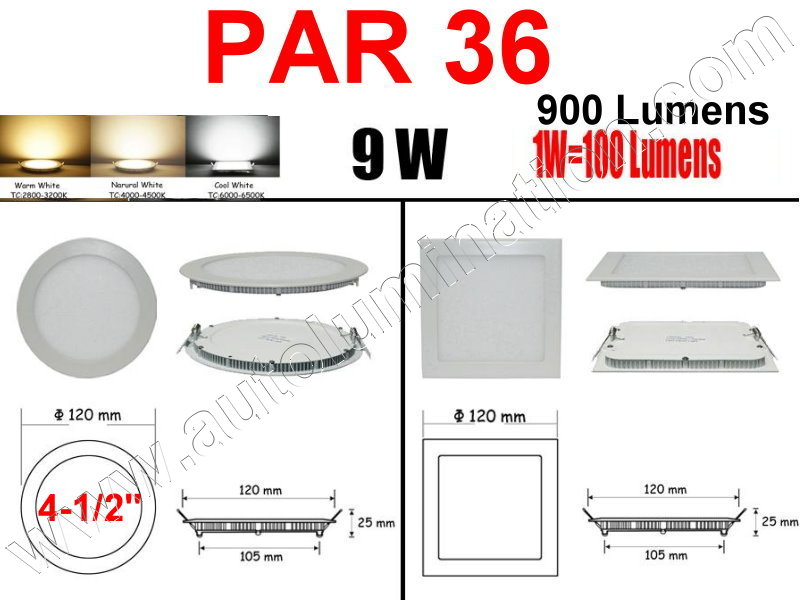 Cree Recessed Led Ceiling Panel Down Lights PAR 36