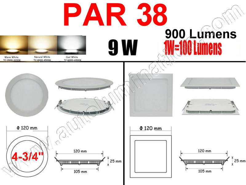 Cree Recessed Led Ceiling Panel Down Lights PAR 38