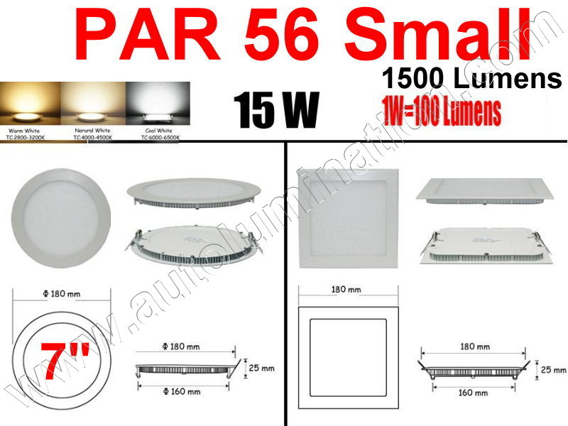 Cree Recessed Led Ceiling Panel Down Lights PAR 56