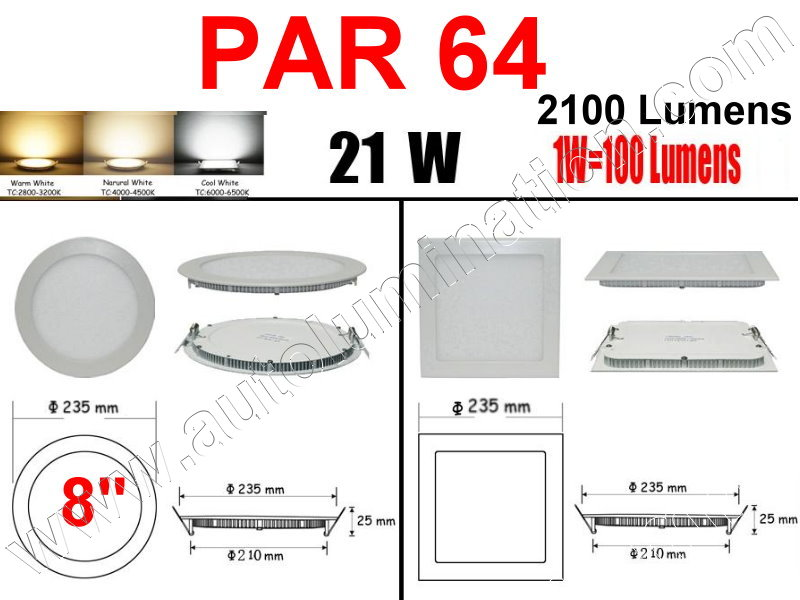 Cree Recessed Led Ceiling Panel Down Lights PAR 64