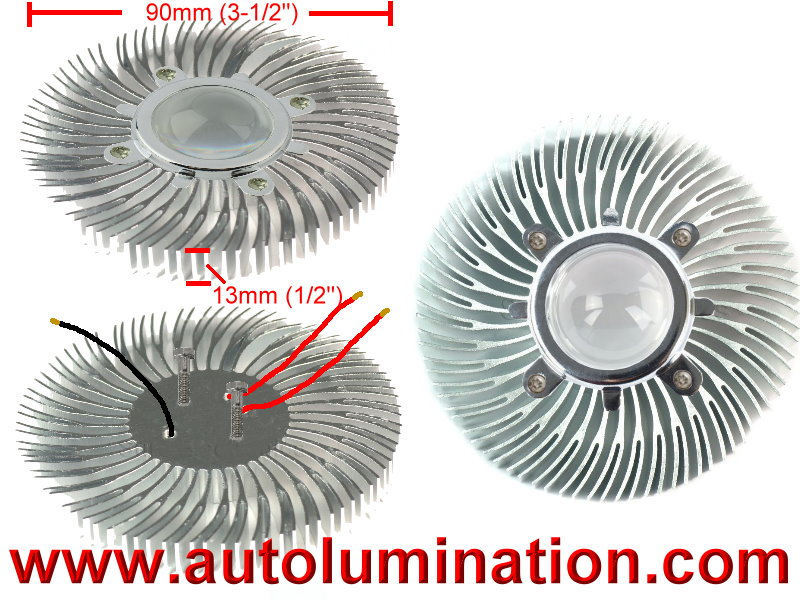 Custom Led Tail Light Insert 6v 12v 24v