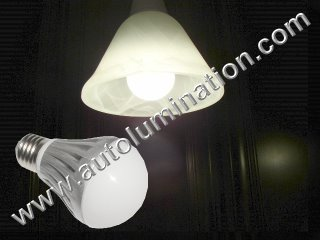 E27 Led 6 Watt Light Bulb 3000K White