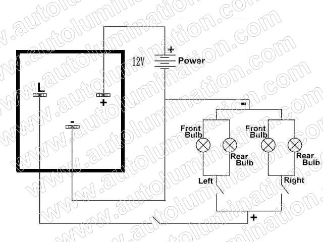 ep28_schematic_wm aftermarket tun signals flasher unit 4 pin flasher relay wiring diagram at crackthecode.co
